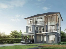 04426 บ้านเดี่ยว 3 ชั้น ม.เดอะ แพลนท์ เอลิท ซ.พัฒนาการ38 เขตสวนหลวง กทม.