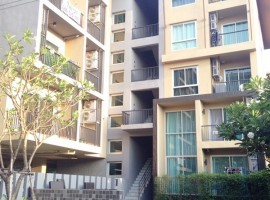 คอนโดเรสต้า คอนโดมีเนียม  (For Sale Resta Jangwattana 12) ชั้น2 34 ตร.ม. ถ.แจ้งวัฒนะ หลักสี่ 1 ห้องนอน 1 ห้องน้ำ 1 ห้องรับแขก ที่จอดรถ 1 คัน  พื้นไม้อย่างดี