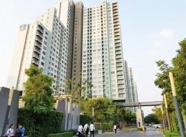 คอนโดลุมพินีพาร์ค รัตนาธิเบศร์-งามวงศ์วาน ห้องมุม ชั้น 10 ถ.รัตนาธิเบศร์ เมืองนนทบุรี for sale at Lumpini Park Rattanathibet