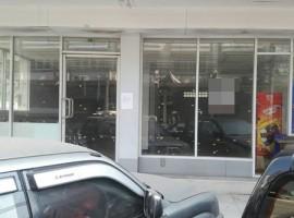 ให้เช่าคอนโดชั้นล่าง ทำธุรกิจได้ 48 ตร.ม. ห้องกว้างมาก ถนนแฮปปี้แลนด์สาย2 ใกล้เดอะมอลล์บางกะปิ